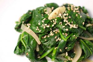 sauteed-spinach-with-toasted-sesame-seeds