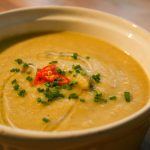 Curried Parsnip Soup. Yum!!