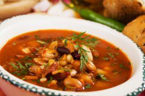 Smokey Vegetable Bean Soup