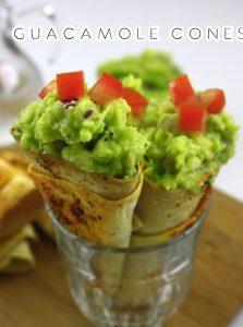 Guacamole Cones 2