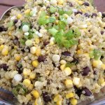Quinoa and Roasted Corn
